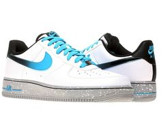 Nike Air Force 1 WHITE CURRENT BLUE 488298-119