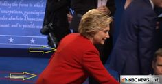 Photos: What?s That Under Hillary?s Pantsuit During Last Night?s Debate?
