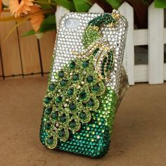 3D Crystal iPhone Case for AT Verizon Sprint Apple iPhone 4/4S Green Peacock by Nova Case, http://www.amazon.com/dp/B006ZOBNB0/ref=cm_sw_r_pi_dp_XsUZqb0757KKP