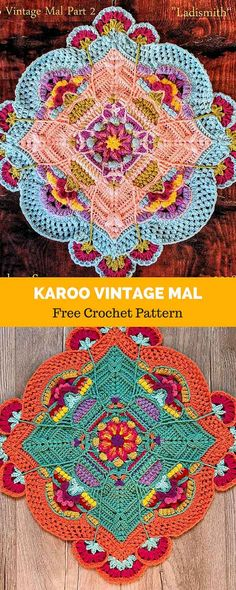 Transcendent Crochet a Solid Granny Square Ideas. Inconceivable Crochet a Solid Granny Square Ideas. Crochet Mandala Pattern, Granny Square Crochet Pattern, Crochet Stitches Patterns, Crochet Squares, Crochet Granny, Crochet Designs, Knitting Patterns, Granny Squares, Crochet Afghans