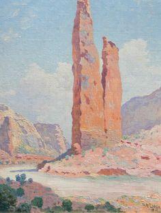 William Robinson Leigh - Obelisk in the Canyon de Chelly kK
