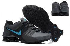 d464ea217470 Mens Nike Shox Current Grey Blue 13 Adidas Running Shoes