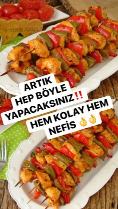 Steak Recipes, Lunch Recipes, Chicken Recipes, Cooking Recipes, Healthy Recipes, Turkish Recipes, Mexican Food Recipes, Ethnic Recipes, Oven Chicken