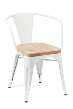 Marais Arm Chair / Wood Seat