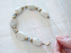 How to String Beads (Plus a DIY Bracelet Project)