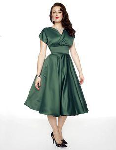 Vivienne of Holloway Grace green circle dress