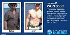 Meet James B. He participated in The Beachbody Challenge® and won the $500 Daily Prize for January 16th.  He was always active and in sports growing up and then as the years went on the weight started piling on he tried to lose weight numerous times but always gained it back. Then he found insanity and got real results!  www.kristicurtis.com