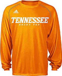 Tennessee Volunteers Heather Orange Climalite Slogan Long Sleeve Shirt by Adidas $32.95