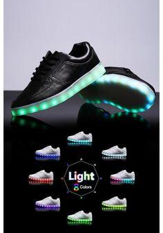 Light up Shoes - Black