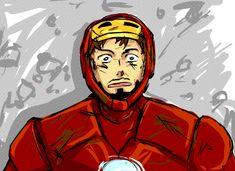 iron man tony stark Captain America Steve Rogers avengers Steve x Tony finished