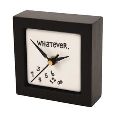 Enesco Our Name is Mud by Lorrie Veasey Whatever Desk Clock