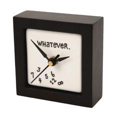 Retirement Gift Ideas -  Whatever Clock