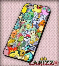 """Pokemon Collage Cover for iphone 4/4s/5/5s/5c/6/6 , Samsung S3/S4/S5/S6, iPad 2/3/4/Air/Mini, iPod 4/5, Samsung Note 3/4 Case """"007"""""""