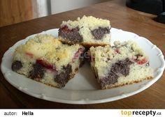 Maková buchta - rychlá No Bake Desserts, Cheesecake, Muffin, Food And Drink, Baking, Breakfast, Recipes, Cakes, Homeland