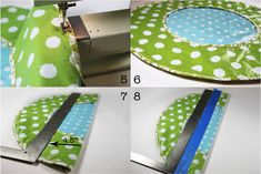 Vinyl Tablecloth Roll Up Diaper Changer Tutorial and Pattern   Ashley Hackshaw / Lil Blue Boo