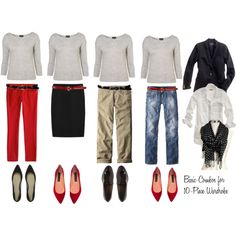 10 - Piece Wardrobe - Gray Sweater