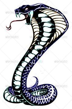 Buy cobra by namistudio on GraphicRiver. cobra illustration (open with or above, coreldraw) Tribal Snake, Snake Art, Bild Tattoos, Leg Tattoos, Arm Tattoo, White Tattoos, Dragon Tattoos, Tiger Tattoo, Samoan Tattoo
