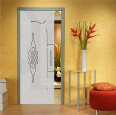 High-quality, tempered, sliding pocket glass door with frosted design and hardware. These doors are a simple solution to replace your old pocket do… Modern Sliding Doors, Sliding Glass Door, Glass Doors, Stress Causes, Installation Manual, Tracking System, Safety Glass, Pocket Doors