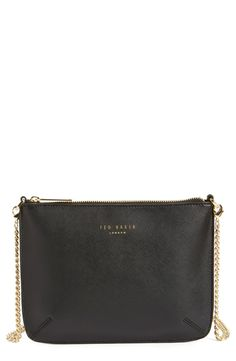 This darling Ted Baker shoulder bag with cute gold hardware is going to be perfect for dates and nights out! Can't pass this up from the Anniversary Sale.