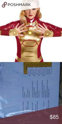 costume Iron man bodysuit