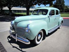 What a beautiful classic car! A 1941 Plymouth Special Deluxe on GovLiquidation.