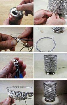 reduce reuse recycle :) I found an idea for Harry !