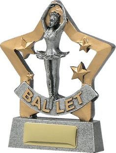 Ballet Star 130mm Glass Trophies, Sports Trophies, Dance Awards, Girly Things, Good Things, Corporate Awards, Engraving Services, Cheerleading, Ballet