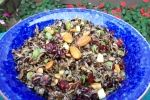 Wild Rice with Cranberries and Almonds - AF Wk 2