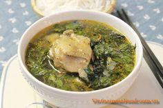 Chicken Soup with Basil Leaves Recipe (Gà Nấu Húng Quế) from www.vietnamesefood.com.vn