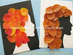 Autumn Crafts, Autumn Art, Nature Crafts, Leaf Crafts Kids, Crafts For Kids, Arts And Crafts, Projects For Kids, Art Projects, Leave Art