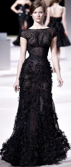 Elie Saab?? | Keep the Glamour | BeStayBeautiful  Black Dress #2dayslook #ramirez701 #BlackDress www.2dayslook.com