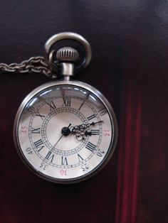 SALE 10  OFF Antique Pocket Watch Necklace by Azuraccessories, $5.93