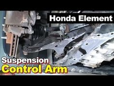 2006 Honda Element Front Left Lower Control Arm & Bushing - YouTube Honda Element, Control Arm, Arms, Youtube, Youtubers, Youtube Movies