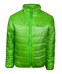 Green Padded Trondheim Jacket - Toddler by Trollkids on £18.99