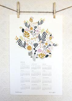 2012 calendar from Leah Duncan