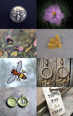 What's The Buzz? by Deborah Mosca on Etsy--Pinned with TreasuryPin.com