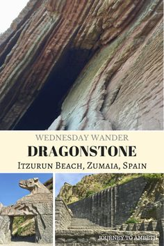 For Games of Thrones fans, I visited Dragonstone - Itzurun Beach, Zumaia in Spain...