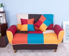 LIFE CARVER  Adjustable Back Colorful Patchwork Fabric Sofa Loveseat Couch Home Furniture 2 Seater Sofa with 2 F No description (Barcode EAN = 7809645380897). http://www.comparestoreprices.co.uk/december-2016-6/life-carver-adjustable-back-colorful-patchwork-fabric-sofa-loveseat-couch-home-furniture-2-seater-sofa-with-2-f.asp