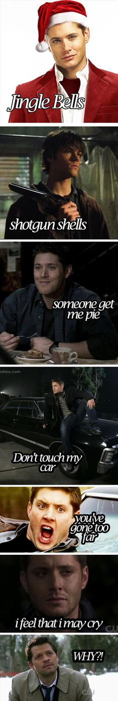 A Supernatural Christmas :D I know it isn't heist as but this is too good