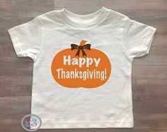 Happy Thanksgiving, Turkey Day, Girl Clothes, Bows, Pumpkins, Custom, Fall, Fall Clothing, Baby Girl, Kids Clothing, Autumn, Kids Turkey Day