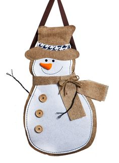 Features:  -Made out of durable medium weight polyburlap.  -Specially created to withstand the outdoors.  Holiday Theme: -Yes.  Holiday: -Christmas.  Color: -White;brown.  Decoration Type: -Sign/Banne