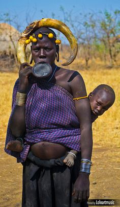 The Mursi (or Murzu), Ethiopia