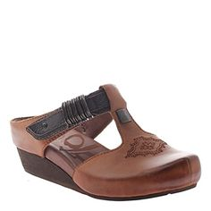 Look at this Havana Streams Leather Clog by OTBT Clogs Shoes, Shoe Boots, Walking Gear, Types Of Sandals, Brown Slip On Shoes, Flat Shoes, Wedge Shoes, Closed Toe Wedges, Leather Clogs