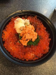 [I ate] Salmon Roe and Sea Urchin Sashimi Japanese Rice! http://ift.tt/2lbGdfH