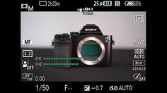 A7m2 Sony Steadyshot settings - switching between Sony and non-native le...
