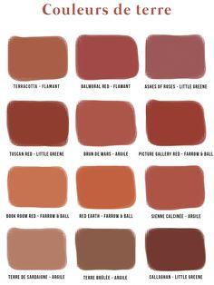 Terracotta color, do we like it or not? - Soo Deco - Terracotta color, do we like it or not? Room Colors, House Colors, Paint Colors, Colours, Colour Pallete, Colour Schemes, Color Terracota, Terracotta Paint Color, Little Greene