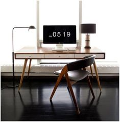 This is a very interesting workspace. The table and the chair really stand out and are very eye catching. Nice one.