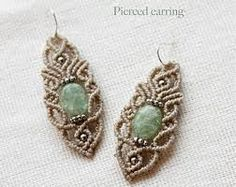 exclusive macrame earrings - Google Search