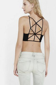 Black Express One Eleven Lattice Back Bralette, $14.90 | 27 Perfect Bralettes For Babes With Small Boobs