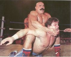 The Iron Sheik will put you in a Camel Clutch and make you humble!